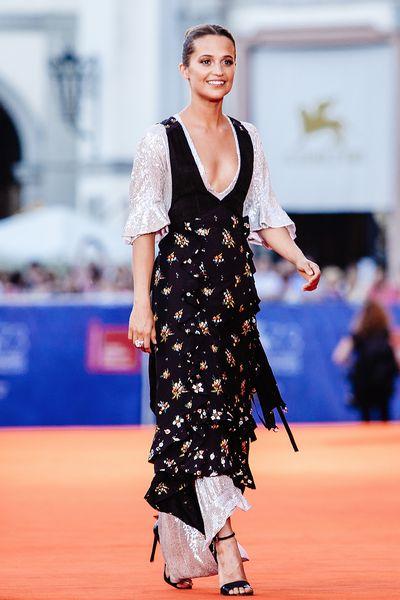 8. Alicia Vikander in Louis Vuitton