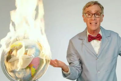 Bill Nye has been trying to raise awareness of global warming for years.