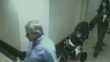 Michael Wallace caught on CCTV with the woman he killed