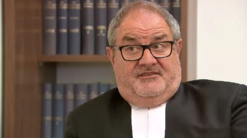 """Mr Papas described the issue affecting the state's courtrooms as """"scary"""". (9NEWS)"""