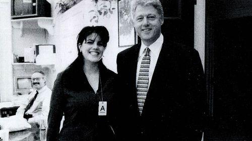 Clinton to Monica Lewinsky. (Getty)