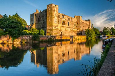Newark Castle in Nottinghamshire, England