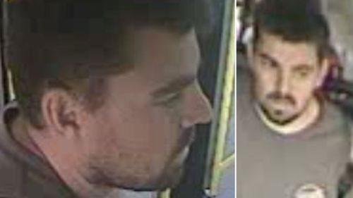 Police release CCTV after bus driver abused on Sydney airport route