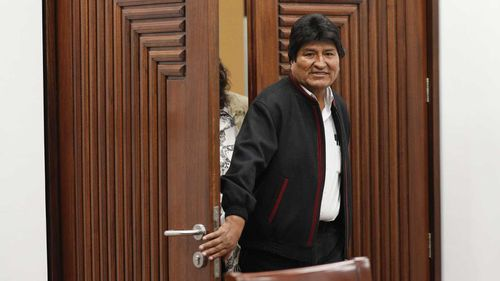 Evo Morales is clinging onto power after a hotly disputed election.