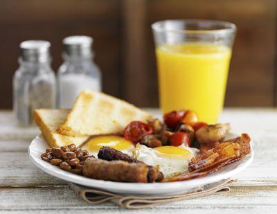 2. Skip the greasy breakfast