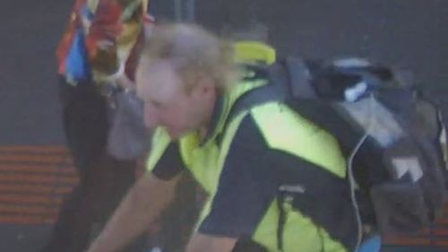 This man is wanted over the attack. (Victoria Police)