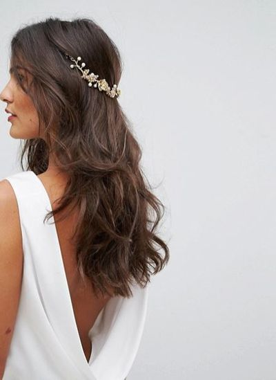 "<a href=""http://www.asos.com/au/loverocks-london/loverocks-london-flower-cluster-hair-drape/prd/8599625?clr=gold&amp;cid=4175&amp;pgesize=36&amp;pge=0&amp;totalstyles=1736&amp;gridsize=3&amp;gridrow=10&amp;gridcolumn=2"" target=""_blank"">Love Rocks London Flower Cluster Hair Drape in Gold, $70</a><strong><br> </strong>"