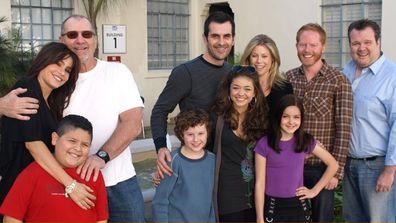 The cast of Modern Family in Season 1.