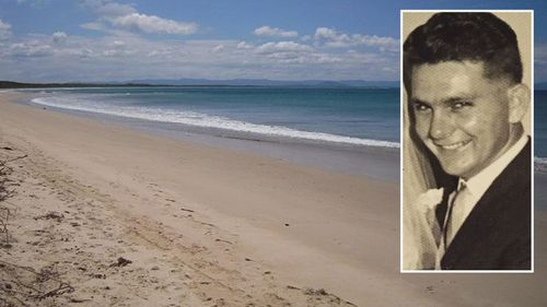 Alan Roberts disappeared from Currarong Beach.