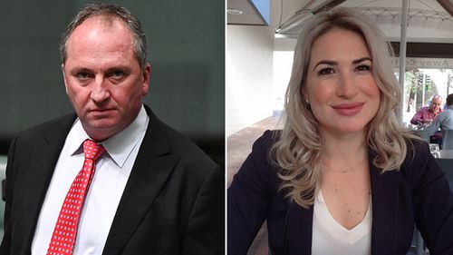 Mr Joyce said that it was partner Vikki Campion's idea to do the TV interview. Pictures: Supplied