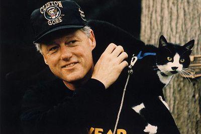 Bill Clinton: Socks and Buddy
