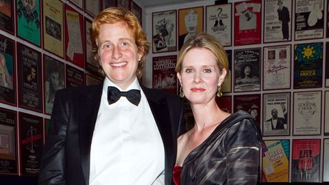 <i>Sex and the City</i>'s Cynthia Nixon marries girlfriend in New York