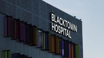 Blacktown Hospital in western Sydney.