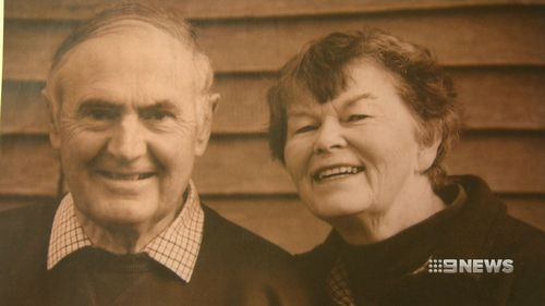 Catherine Bartho lost her husband Donald to the neurodegenerative disease when he was supposed to be enjoying his retirement. (9NEWS)