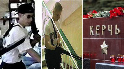 Crimea school gunman who killed 19 dressed like Columbine shooter