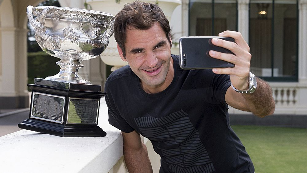 Tennis: Roger Federer hungry for more after 2018 Australian Open triumph