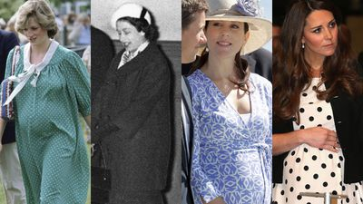 Royal pregnancies and babies in pictures