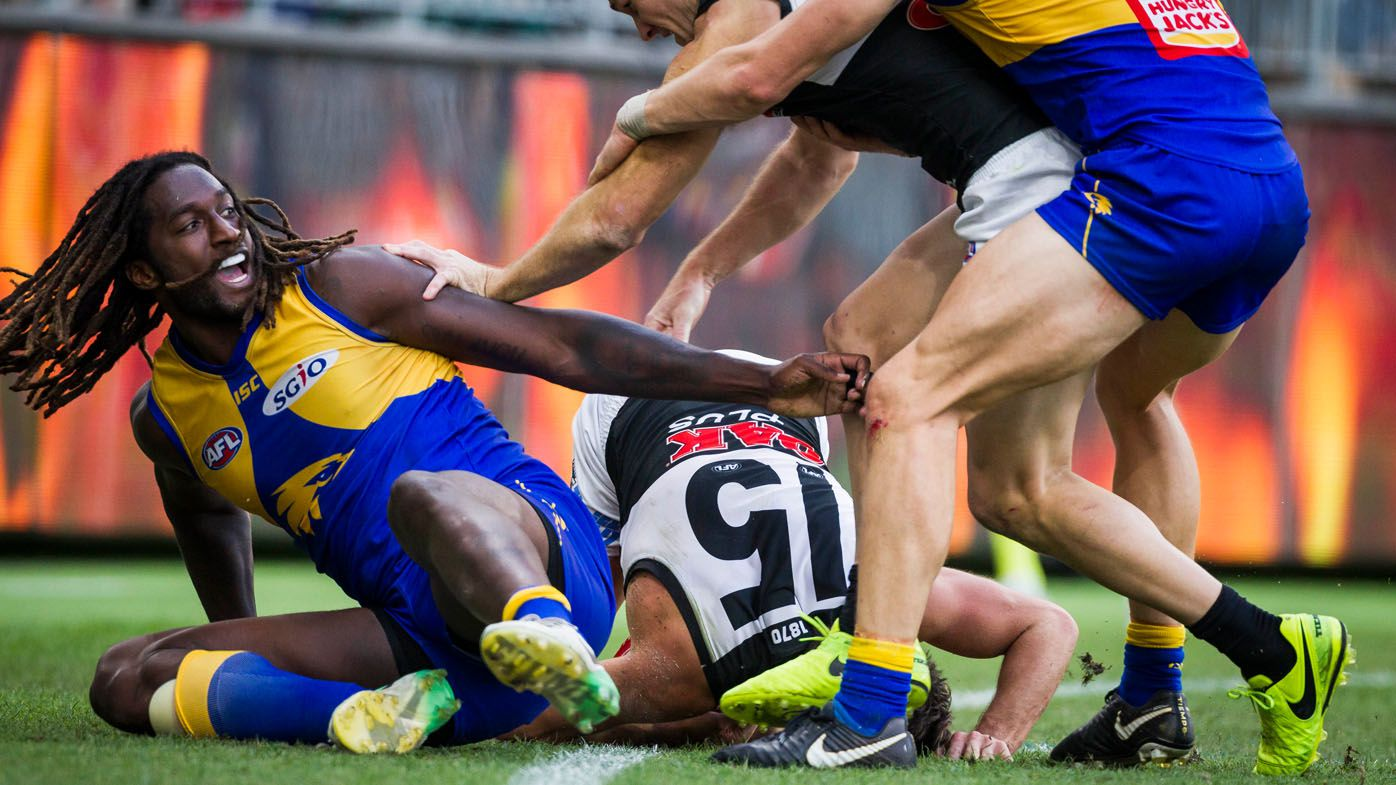 AFL tribunal upholds one-match ban on West Coast Eagles star Nic Naitanui for tackle on Port Adelaide's Karl Amon