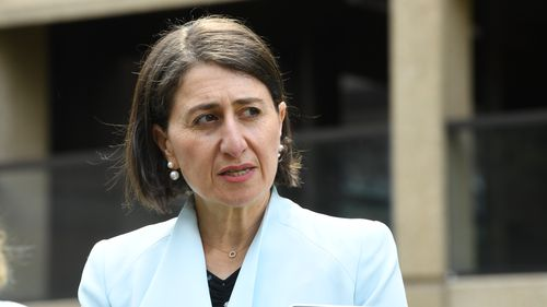 Gladys Berejiklian said NSW should get its 'fair share' of the vaccines as it is taking the most returned travellers.