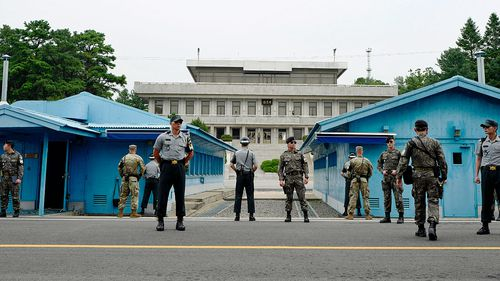 Officials from North and South Korea held talks close to the border this week in South Korea. (Photo: AP).