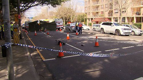 Woman killed in alleged hit and run by taxi in Crows Nest