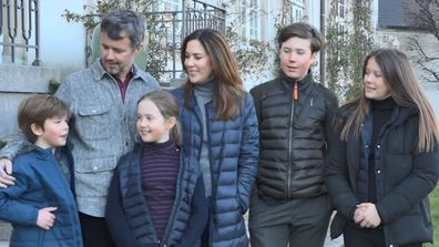 Princess Mary family send video message from isolation