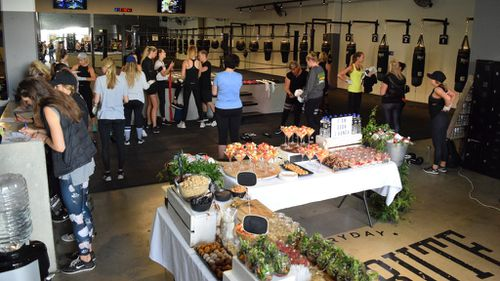 "The ""I AM"" book launch was held at Tribute Boxing and Fitness gym in Abbotsford, Melbourne. (Supplied via Jacqueline Kennedy)"