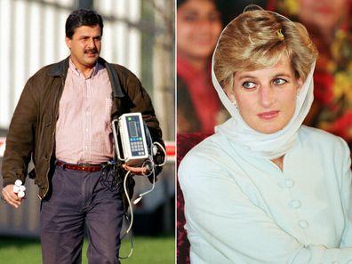 Princess Diana and her romance with Pakistani heart surgeon Hasnat Khan