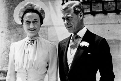 """<b>Became royalty in:</b> England<p>King Edward VIII was so besotted with the twice-divorced American socialite, he abdicated the throne and became the Duke Of Windsor just so he could marry her.<P>""""I have found it impossible to carry the heavy burden of responsibility, and to discharge my duties as King... without the help and support of the woman I love,"""" he explained in a radio address."""