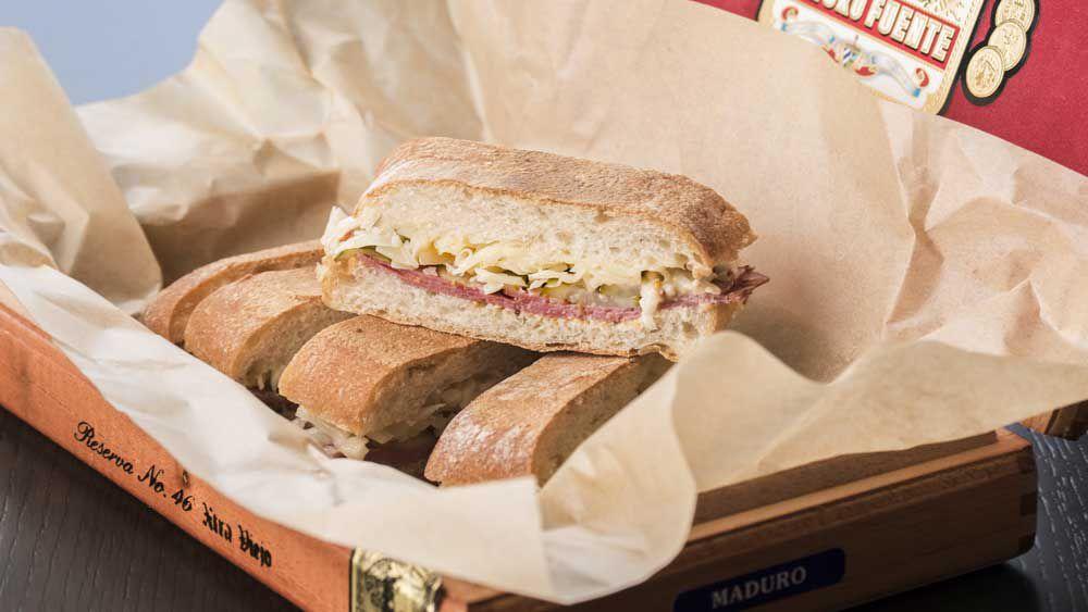Cuban Reuben sandwich by Hacienda, Sydney