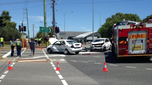 Girl, six, critically injured after head-on crash in Perth suburb