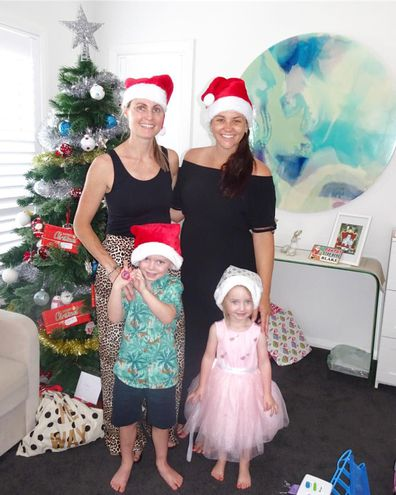 Casey Dellacqua has given birth to her first child with partner Amanda Judd. See