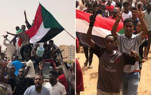 'Blood for blood': Tens of thousands rally for civilian rule in Sudan
