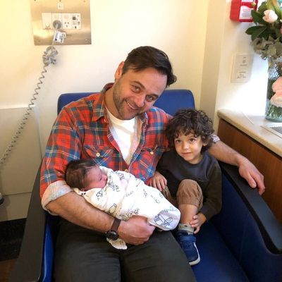 Gyton Grantley welcomes second child