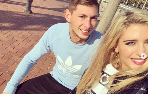 "Sala's former girlfriend, Bernice Schkair, 27, a model for Victoria's Secret from Buenos Aires, tweeted: ""Investigate the football mafia because I don't believe this was an accident."""