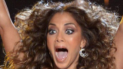 Nicole Scherzinger denies 'drunk' behaviour on <i>X Factor UK</i> … do you believe her?