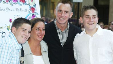 Gary Rhodes and family 2