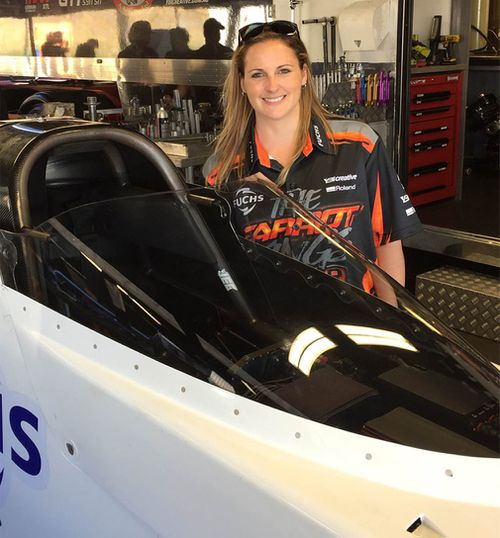 Bettes has the fastest time over 1000 feet in Australia. (Supplied)