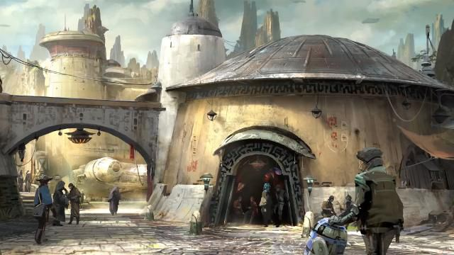 Disney Imagineers discuss their plans for the upcoming Star Wars Land