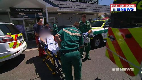 A 69-year-old plumber suffered horrific injuries when a bottle of sulphuric acid exploded in his face at a Walkerville barbershop.