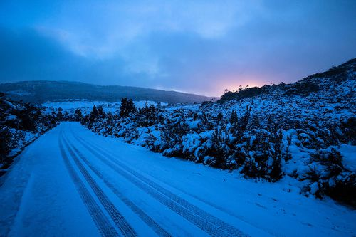 In parts, the natural depth of snow that has fallen is beginning to reach around a metre deep. Picture: Getty.