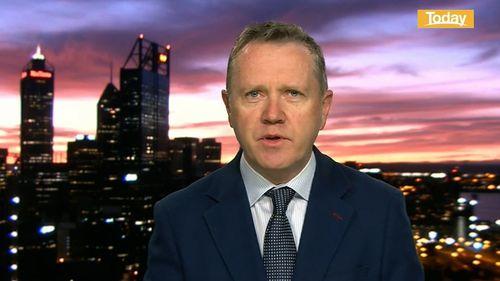 Western Australian AMA President Dr Andrew Miller.