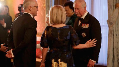 Malcolm Turnbull said he would support Prince Charles. (PA/AAP)