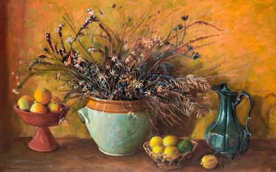 <strong>Margaret Olley Bush Flowers (1978)</strong>