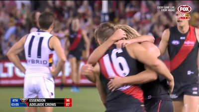 Dons snatch thrilling AFL win over Crows
