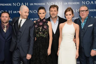 <i>Noah</i> director Darren Aronofsky sure appreciated Emma's smouldering look...