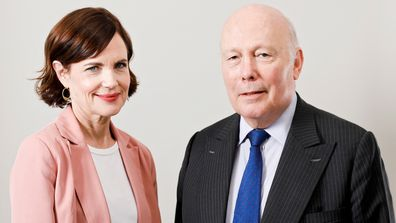 Elizabeth McGovern and Julian Fellowes