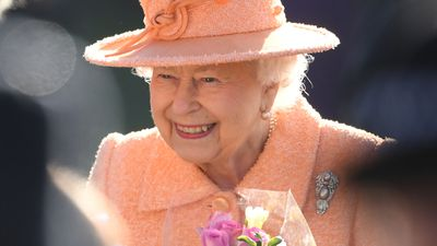 Queen Elizabeth out and about in Norfolk