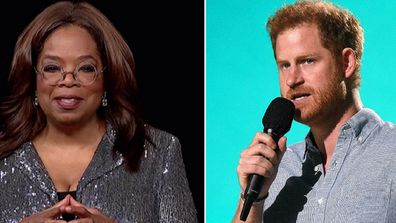 Oprah Winfrey and Prince Harry TV series launch