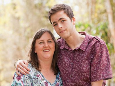 Mother and son epilepsy health battle